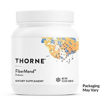 Picture of Thorne Research - FiberMend - Prebiotic Fiber Powder to Help Maintain Regularity and Balanced GI Flora - 11.6 oz.