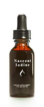 Picture of Enviromedica Nascent Iodine High Potency Liquid Drops for Support and Detoxification of the Thyroid (1ounce)