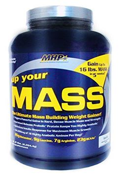 Picture of MHP, Up Your Mass Weight Gainer, Vanilla, 4.6 Pound