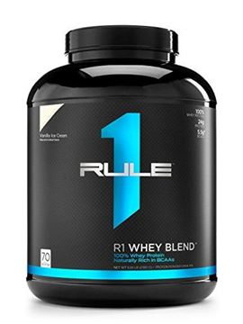 Picture of R1 Whey Blend, Rule 1 Proteins (Vanilla Ice Cream, 70 Servings)