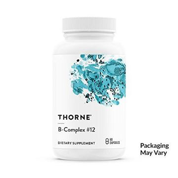Picture of Thorne Research - B-Complex #12 - Vitamin B Complex With Active B12 and Folate - 60 Capsules