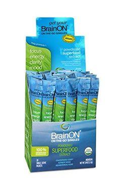Picture of E3Live BrainON - Concentrated E3AFA - On-The-Go Singles - 30 Count Box