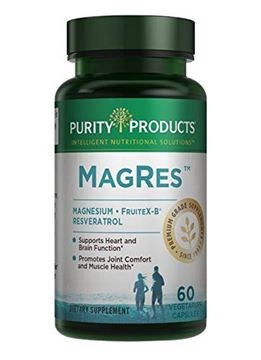 Picture of Purity Products - MagRes Formula Magnesium + Resveratrol 60 capsules