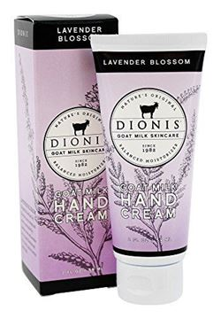 Picture of Dionis Goat Milk Skincare - Hand Cream Lavender Blossom - 2 ounce