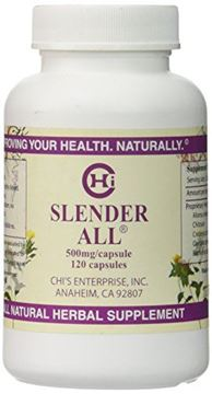 Picture of Slender All - 120 caps,(Chi's Enterprise),500mg capsules