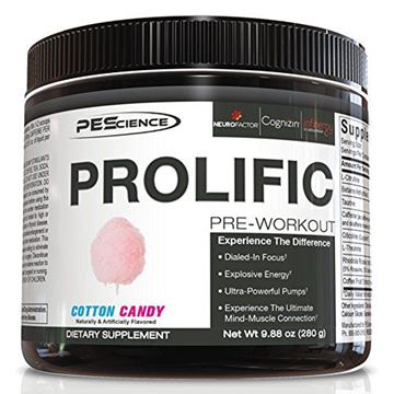 Picture of Physique Enhancing Science 20 Serve Prolific, Cotton Candy, 9.88 Ounce