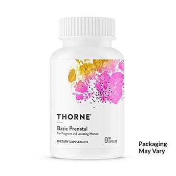 Picture of Thorne Research - Basic Prenatal - Folate Multivitamin for Pregnant and Lactating Women - 90 Capsules