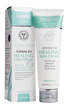Picture of American Biotech Labs Silver Biotics Advanced Healing Skin Cream 3.4oz