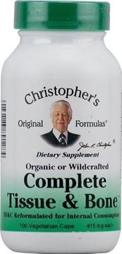 Picture of Complete Tissue and Bone Formula Dr. Christopher 100 VCaps 440 MG EACH