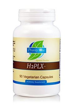 Picture of Priority One Vitamins H2PLX 90 Vegetarian Capsules - Specialized immune support formula with lithium, melissa extract, and other critical supportive nutrients.*