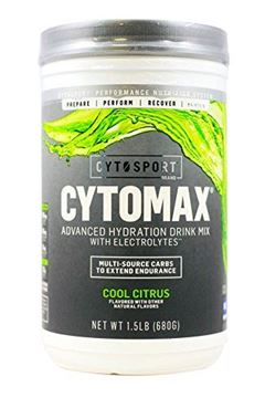 Picture of CytoSport Cytomax Sport Energy Drink, Cool Citrus, 1.5 Pound