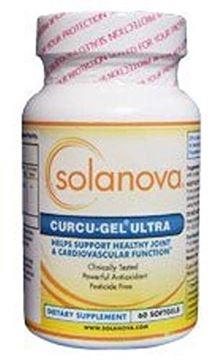 Picture of Curcu-Gel Ultra Curcumin Spice Supplement 500mg, 60 Softgels by Solanova