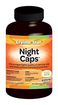 Picture of Crystal Star Night Capsules, 60 Count