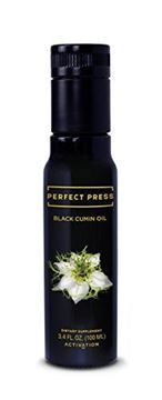 Picture of Activation Products, Perfect Press, Black Cumin Seed Oil, Vegan, Organic & Gluten Free, Pure Nigella Sativa. Digestive Support, Immune System Booster, Loaded with Vitamins b1 b2 b3 (100ml)
