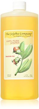 Picture of Pesticide-Free HobaCare Jojoba, 1 Litre(33.76 fl oz) 100% Pure, First-Press Unrefined Jojoba With No Added Ingredients or Fillers.