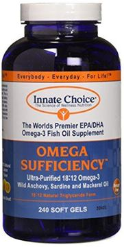 Picture of Omega Sufficiency Lemon 240 Capsules