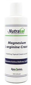 Picture of Nutrasal Liposomal Magnesium & L-Arginine Cream - 8oz