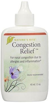 Picture of Natures Rite Congestion Relief Spray 1.5 oz