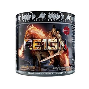 Picture of RE1GN All-in-One Pre Workout by Olympus Labs | Pre Workout Bodybuilding Supplement for Epic Pump & Endurance, Intense Energy & Immaculate Focus | Delicious Fast-Acting Formula | 20 Servings
