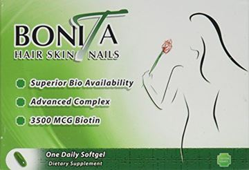 Picture of Essential Source Bonita Hair Skin and Nails, 30 Count