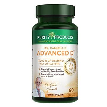 Picture of Dr. Cannell's Advanced D - Vitamin D Super Formula - 60 vegetarian capsules - Purity Products