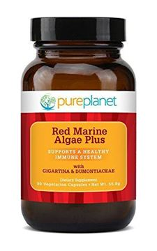 Picture of Red Marine Algae Plus Pure Planet Products 90 VCaps