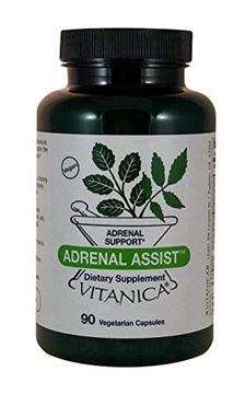 Picture of Vitanica Adrenal Assist, Adrenal Support, Vegan, 90 Capsules