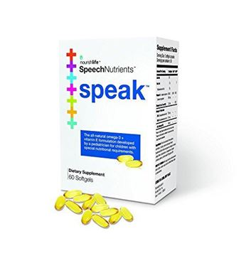 Picture of Nourishlife (Speech Nutrients) speak - 60 Softgels