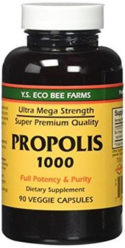 Picture of Propolis-Raw Unprocessed 1000mg Y.S. Organic Bee Farms 90 Caps