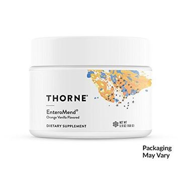 Picture of Thorne Research - EnteroMend (Orange Vanilla Flavor) - Botanical and Amino Acid Formula to Support Intestinal Health - 5.9 oz