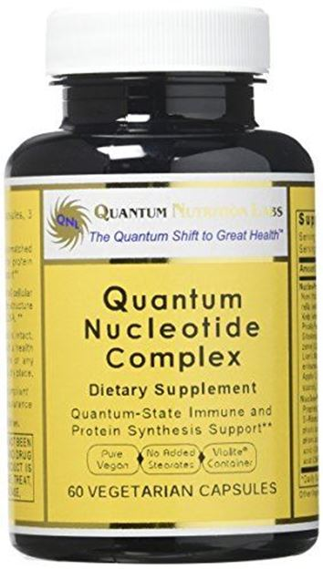 Picture of Quantum Nucleotide Complex, 60 Vegetarian Capsules with Nucleotides for Quantum-State Immune Support