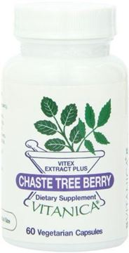 Picture of Vitanica Chaste Tree Berry, 60 Vegetarian Capsules