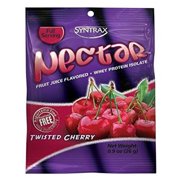 Picture of Syntrax Nectar Grab N' Go, Twisted Cherry Powder, 26-Grams