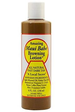 Picture of Maui Babe Browning Lotion 8 Ounces