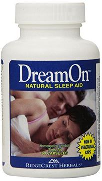 Picture of RidgeCrest Dreamon, Homeo/Herbal Sleep Aid Capsules, 60-Count