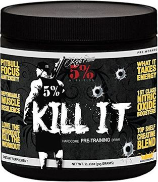 Picture of Rich Piana 5% Nutrition KILL IT Pre Workout (Mango Pineapple) 11.11oz (315 GRAMS) 30 Servings