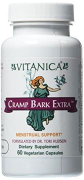 Picture of Vitanica - Cramp Bark Extra - Menstrual Support - 60 Vegetarian Capsules
