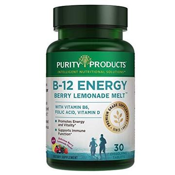 Picture of B-12 Energy BerryMelt with Super Fruits - 30 Tablets from Purity Products