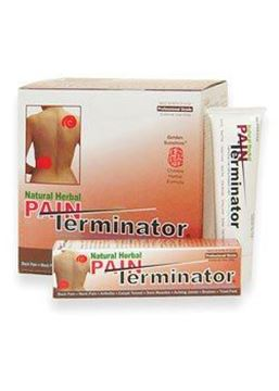 Picture of Golden Sunshine - Pain Terminator Cream Tube - 1.77 oz (50 gm)