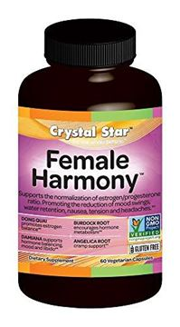 Picture of Crystal Star Female Harmony, 90 Vegetarian Capsules