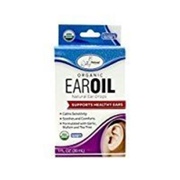 Picture of Wally's Natural Products, Organic Ear Oil with Garlic and Mullein, 1 fl oz - 2pc