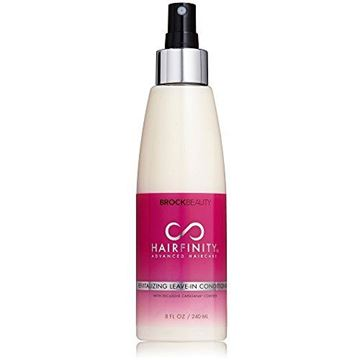 Picture of Hairfinity Revitalizing Leave-In Conditioner With Bioactive Hydrolyzed Collagen, MSM & Horsetail To Reduce Breakage & Split Ends 8 oz