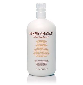 Picture of Mixed Chicks Sulfate-Free Shampoo for Colored & Chemically Treated Hair, 33 fl.oz