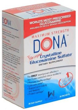 Picture of DONA Crystalline Glucosamine Sulfate, Packets - 30 ea