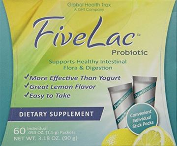 Picture of FiveLac-Five Lac Probiotic (60 Packets)