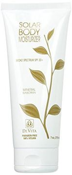 Picture of DeVita Natural Skin Care Solar Body Moisturizer Broad Spectrum SPF 30 7 oz.