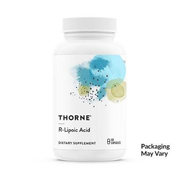 Picture of Thorne Research - R-Lipoic Acid - Alpha-Lipoic Acid (ALA) for Antioxidant Support - 60 Capsules