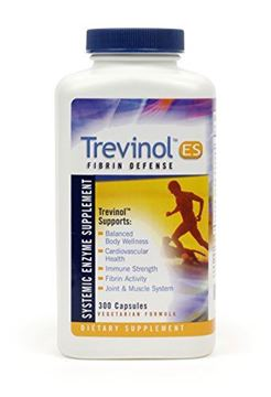 Picture of Trevinol ES by Landis Revin – Joint Health, Cartilage and Mobility Support - Systemic Enzyme Dietary Supplement - Vegetarian Formula (300 Count)