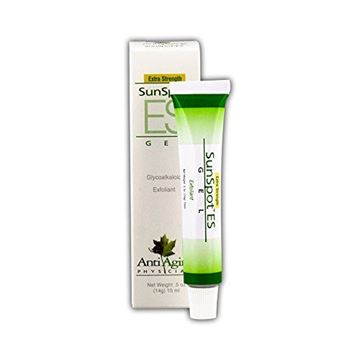 Picture of Lane Labs - SunSpot ES, Natural Exfoliating Gel, Skin Rejuvinating Ingredients, Including Aloe Vera and Tea Tree Oil (0.5 Ounce)