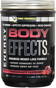 Picture of Body Effects - New Flavor - Power Performance Products Body Effects Pre Workout Supplement - the Ultimate Weight Loss, Fat Burning, Energy Boosting, Appetite Suppressing, Mood Enhancing and Muscle-Defining Supplement - Pomegranate Raspberry 570 grams (1lbs. 4.1 oz)